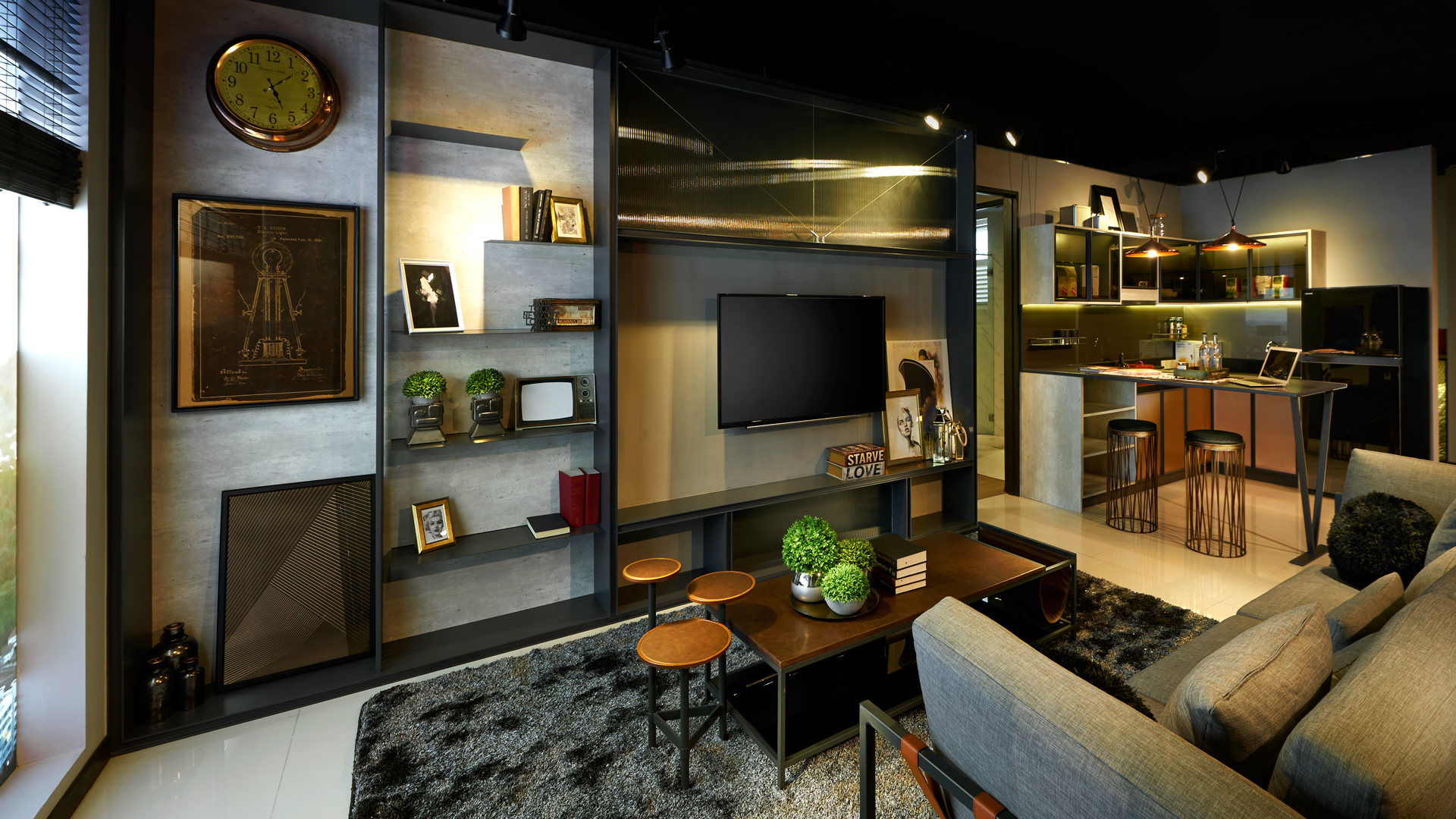 Type A Show Unit - Living & Dining 2