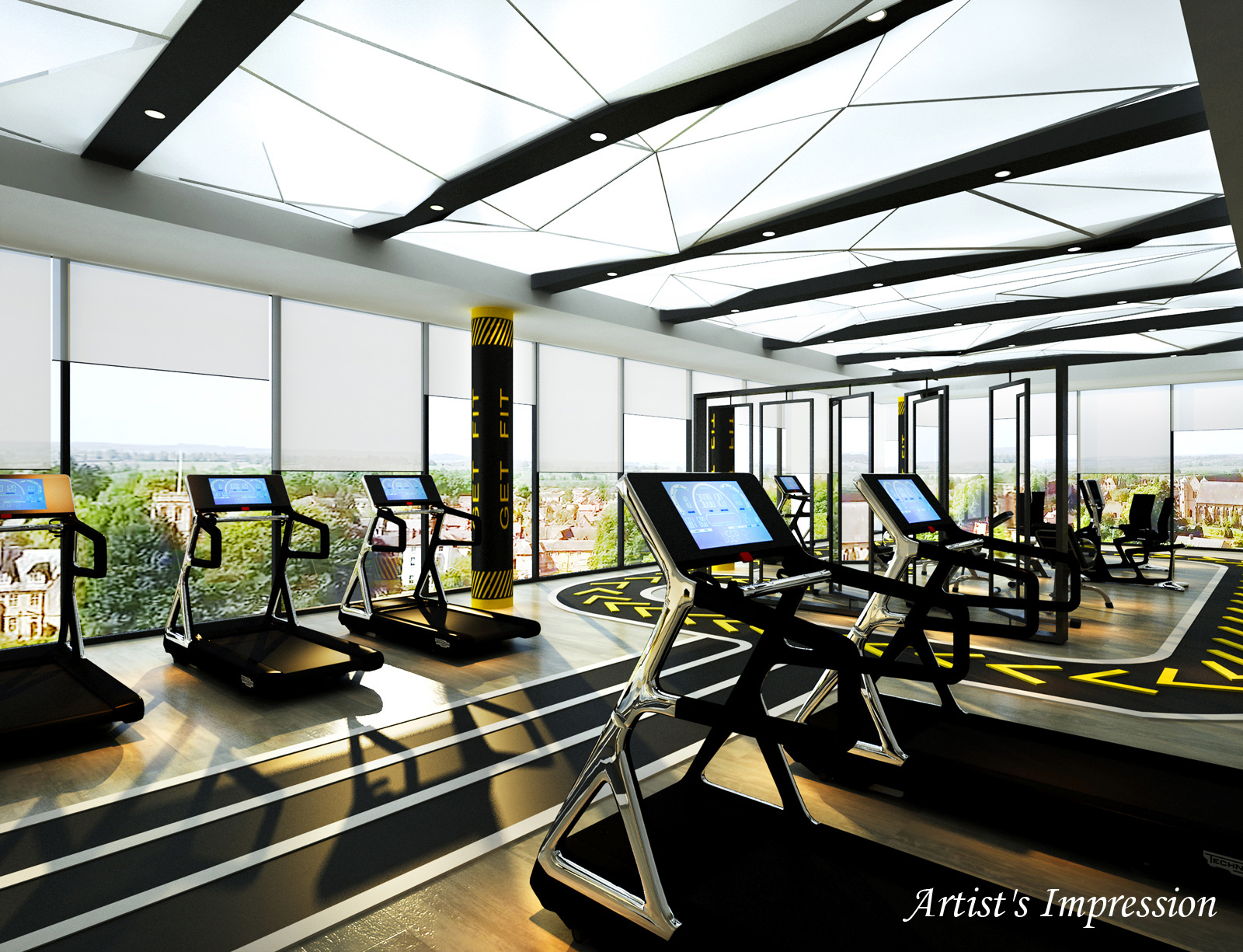 Elevated Gym